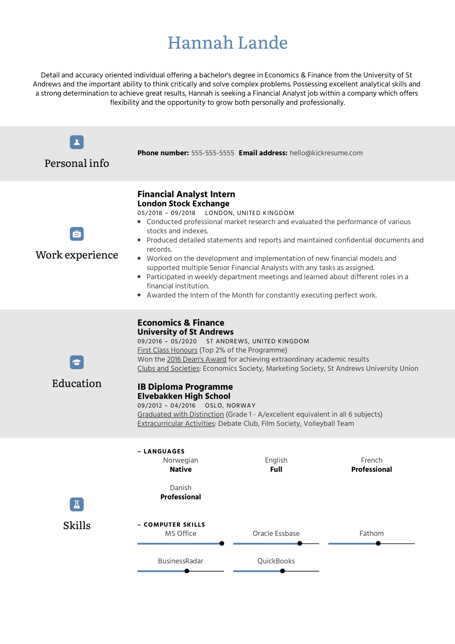 Objective Statement Resume Example (Parte 1)