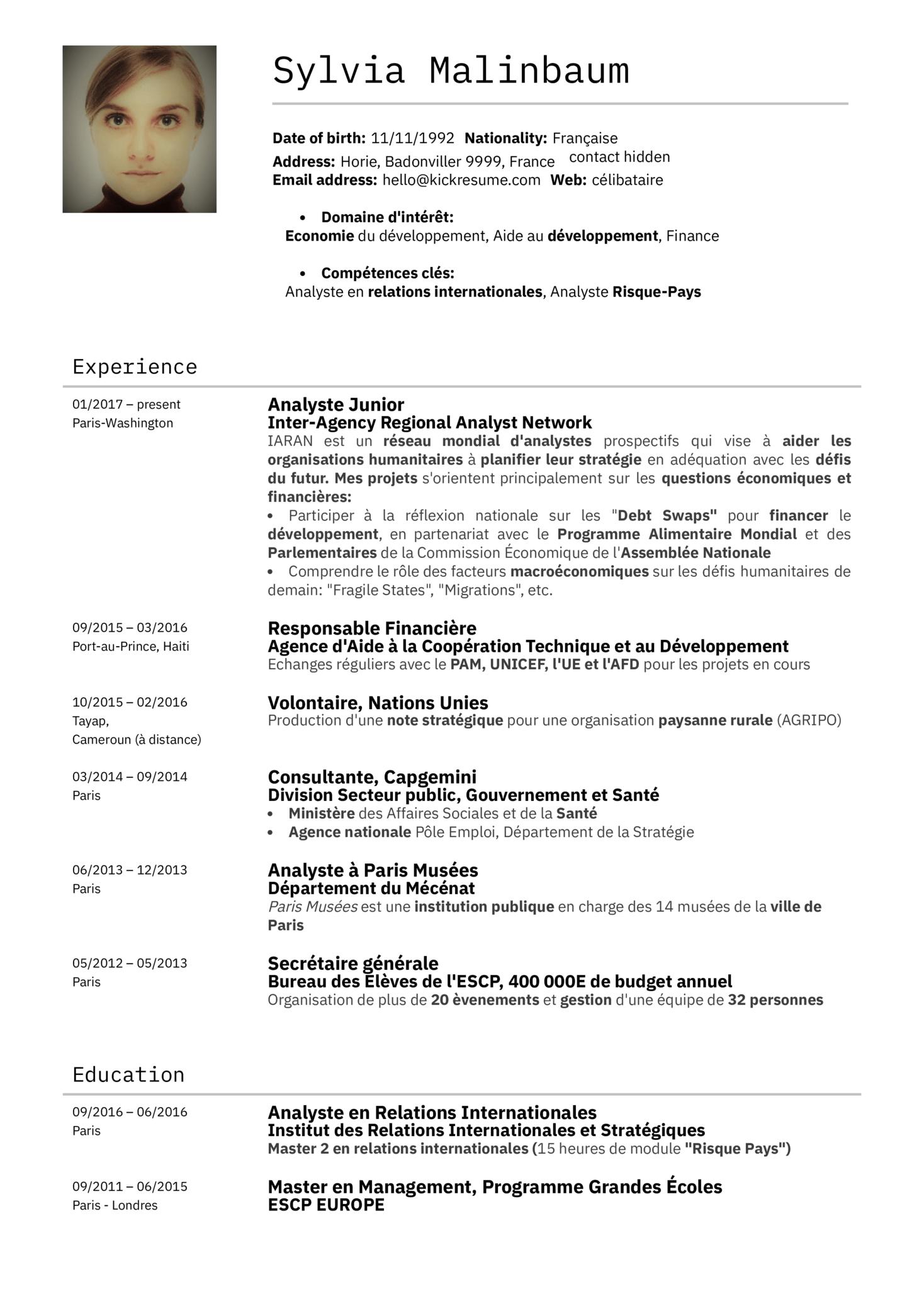 L'économiste du Ministère Des Finances Français (parte 1)