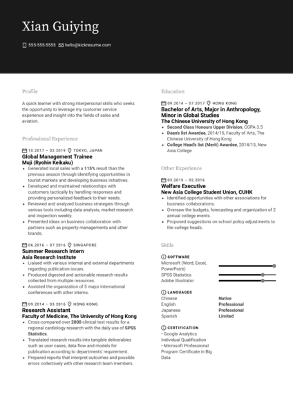 Nielsen Market Research Analyst Resume Example
