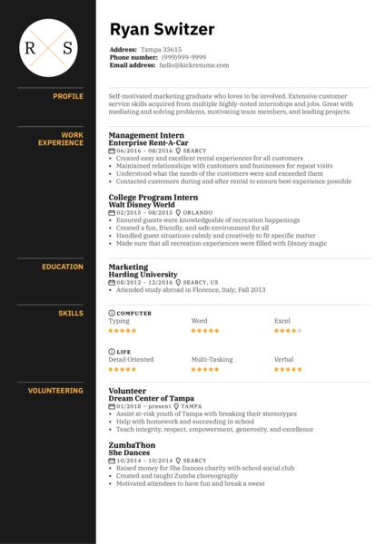Sales Associate at LUSH Resume Template