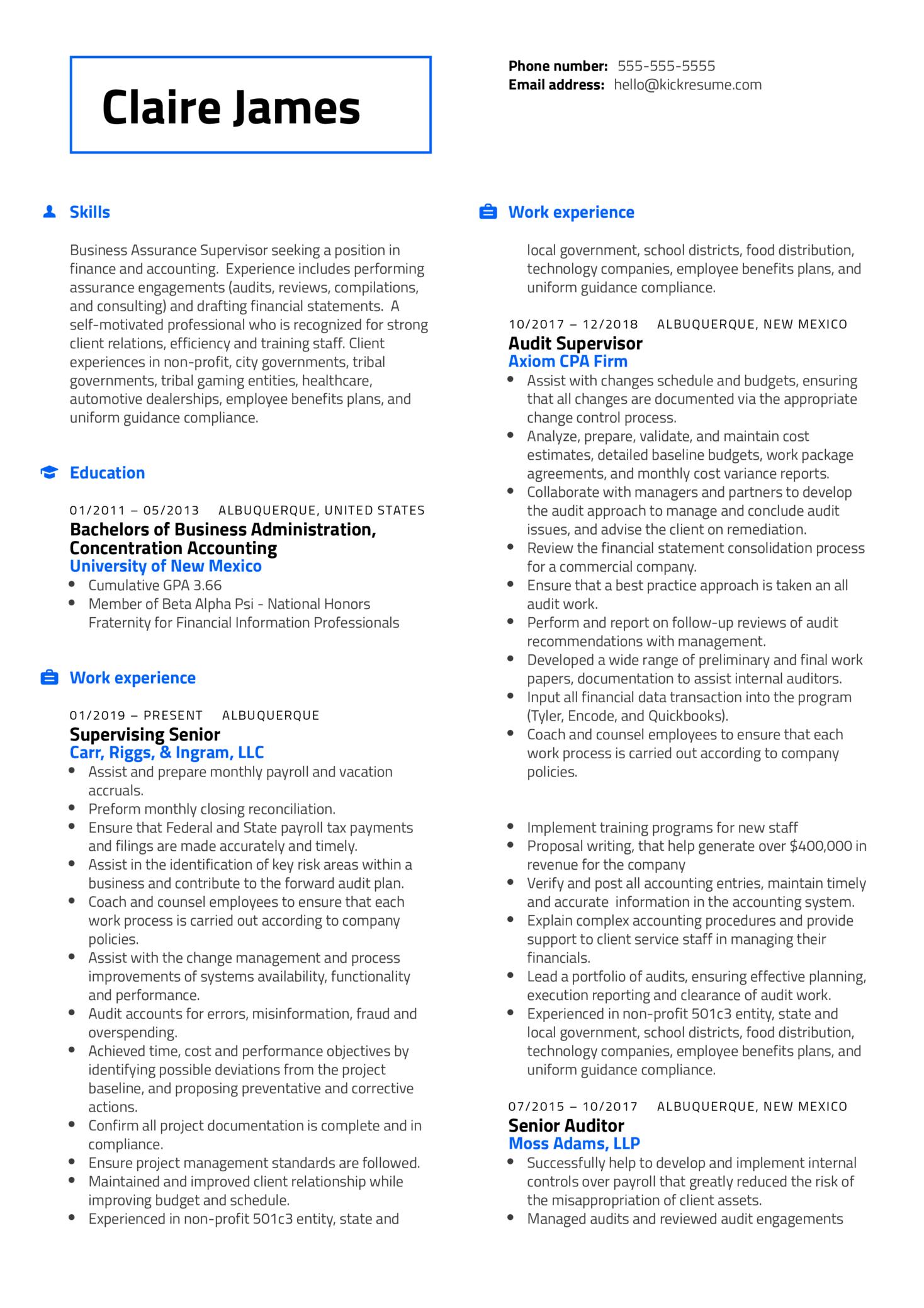 Controller at RiskSense Resume Sample (parte 1)