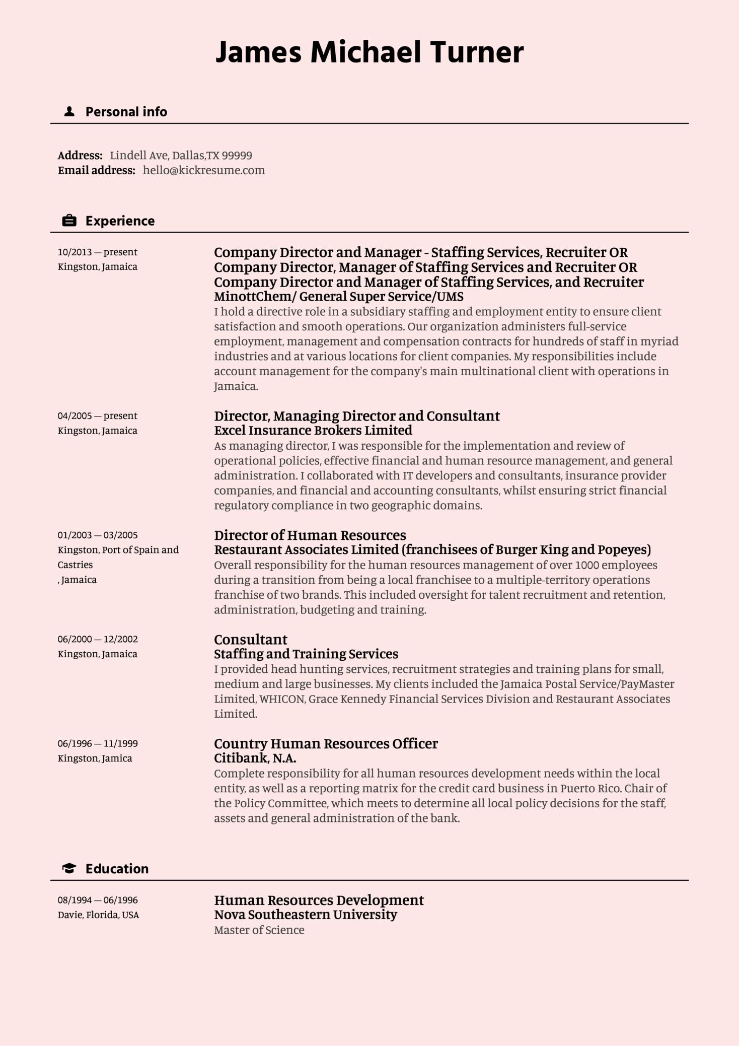 Data Analyst Resume Sample (Part 1)