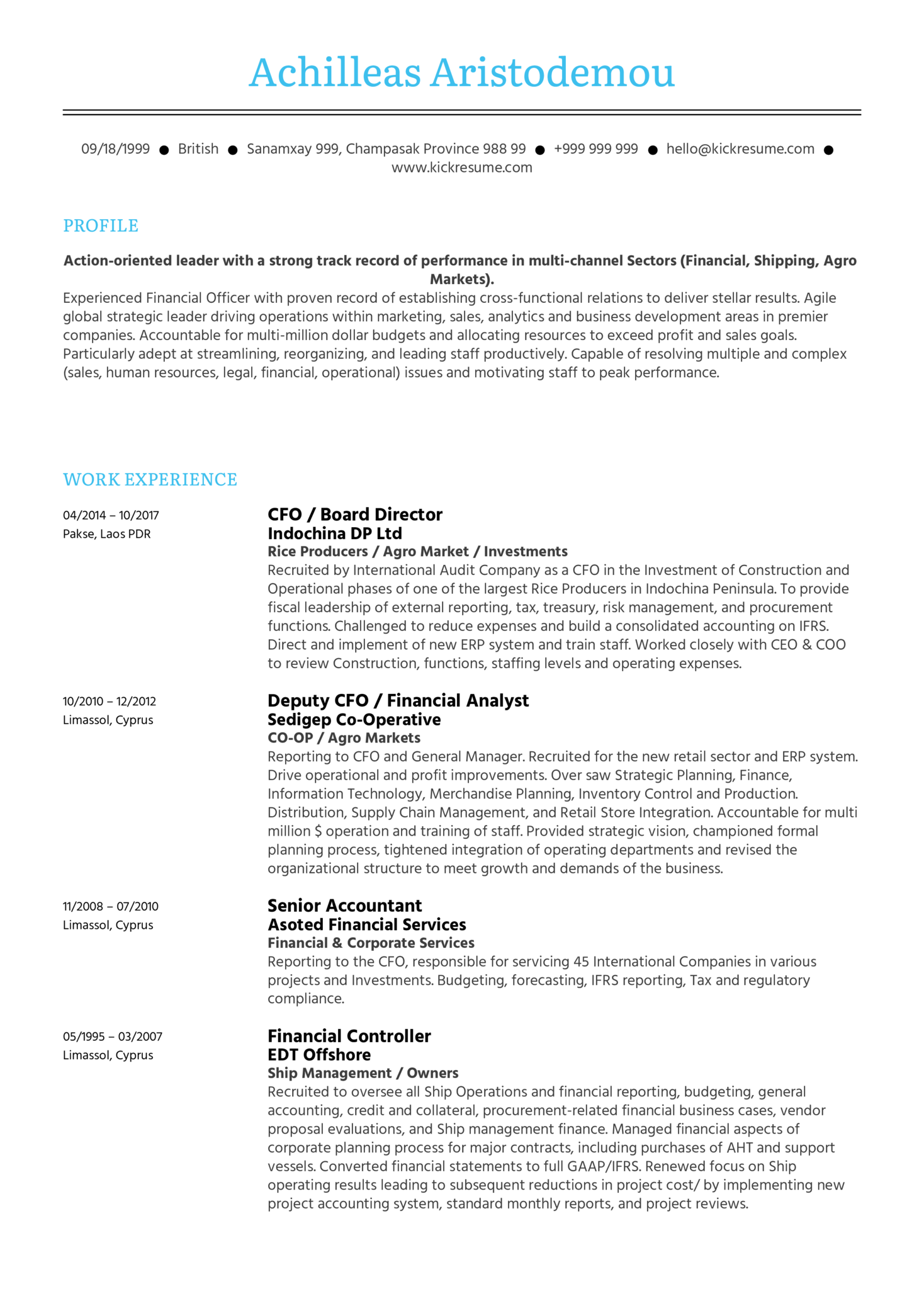 Software Asset Manager CV Sample (Parte 1)