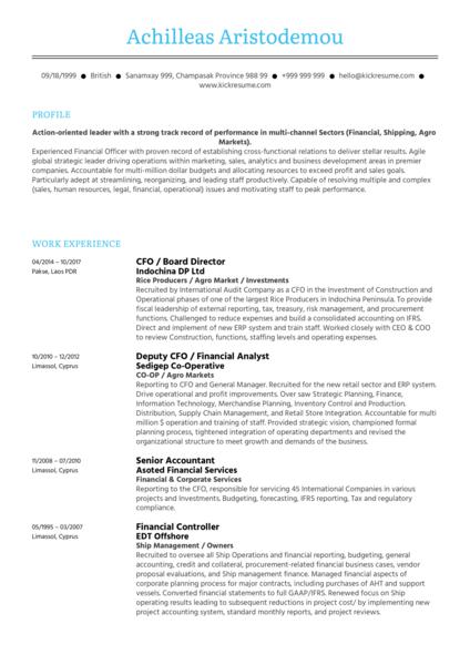 Software Asset Manager CV Sample