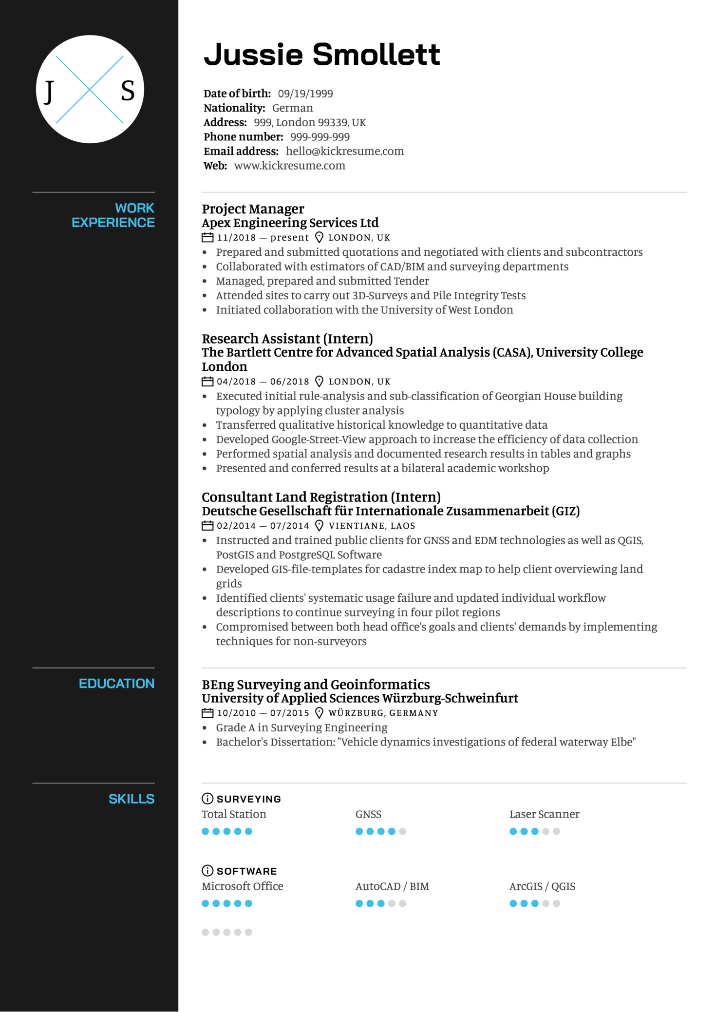 Project Manager Resume Sample (Parte 1)