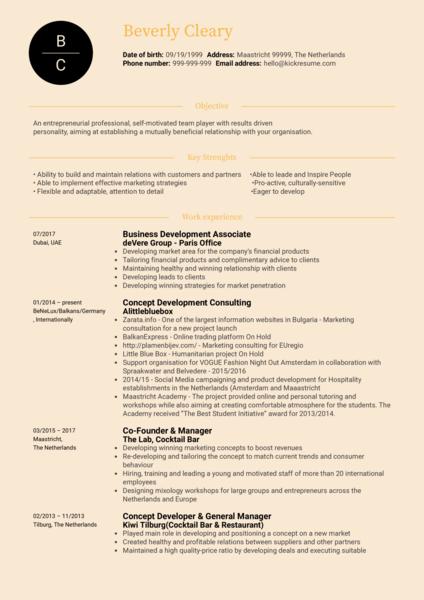 Marketing Manager Resume Sample