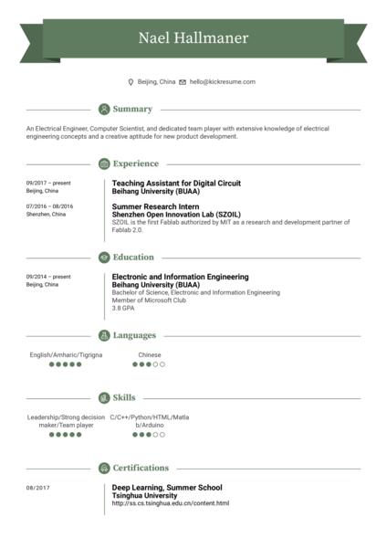 Teaching Assistant Resume Sample