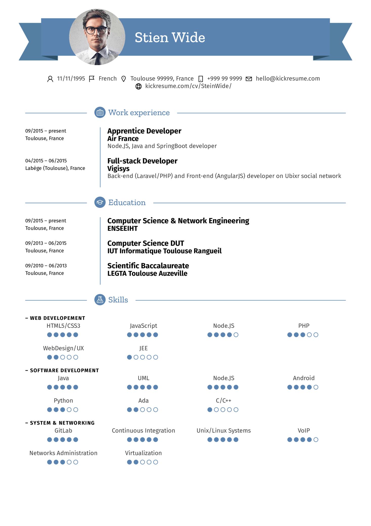 Air France Team Manager Resume Sample (parte 1)